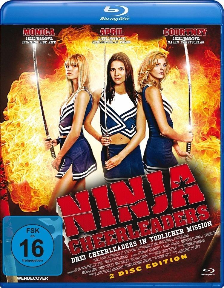 Ninja Cheerleaders Ninja Cheerleaders Bluray Germany