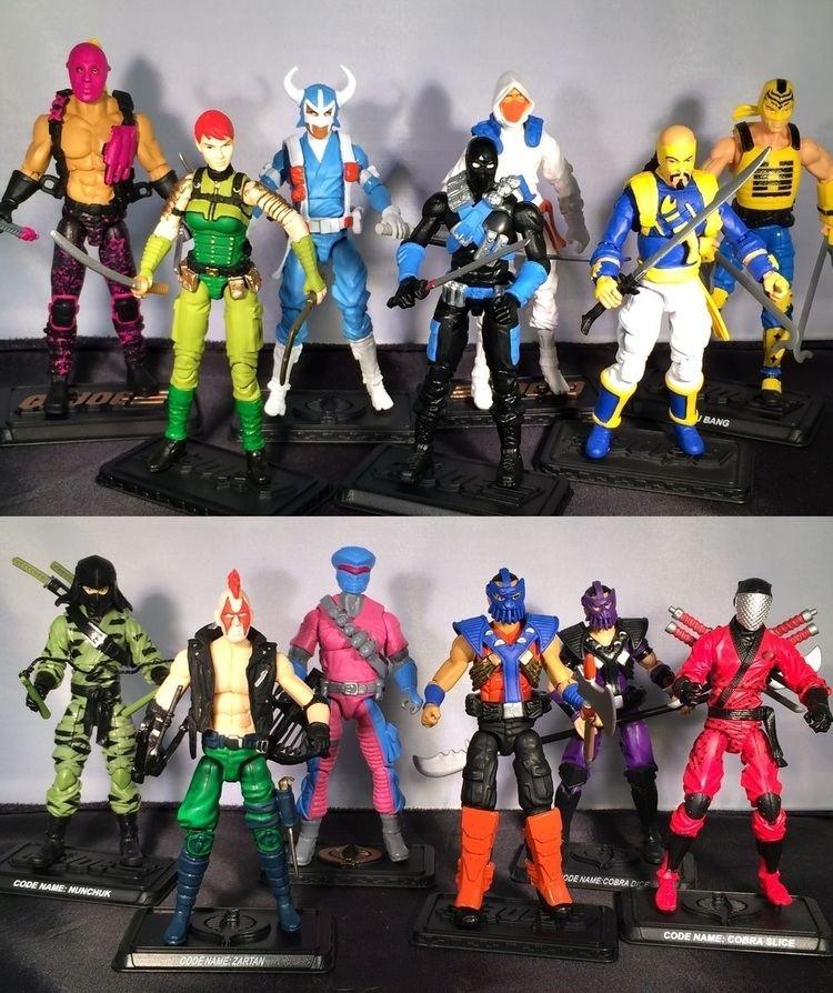 GI Joe Scarlett Ninja Force Action Figure Toy