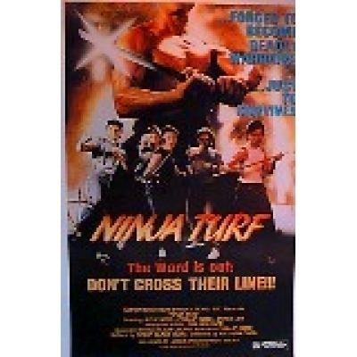 Ninja Turf NINJA TURF Movie Poster Stargate Cinema