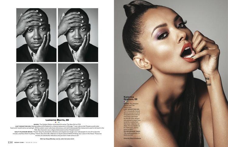 Nino Muñoz Nino Muoz photographs Hollywood39s rising young stars for Ebony