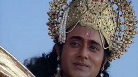 Nitish Bharadwaj Nitish Bhardwaj back as Krishna feels nervous The
