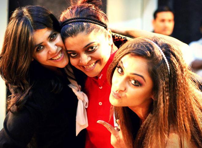 Nivedita Basu GR8 TV Magazine Ekta Kapoor39s picture perfect moment