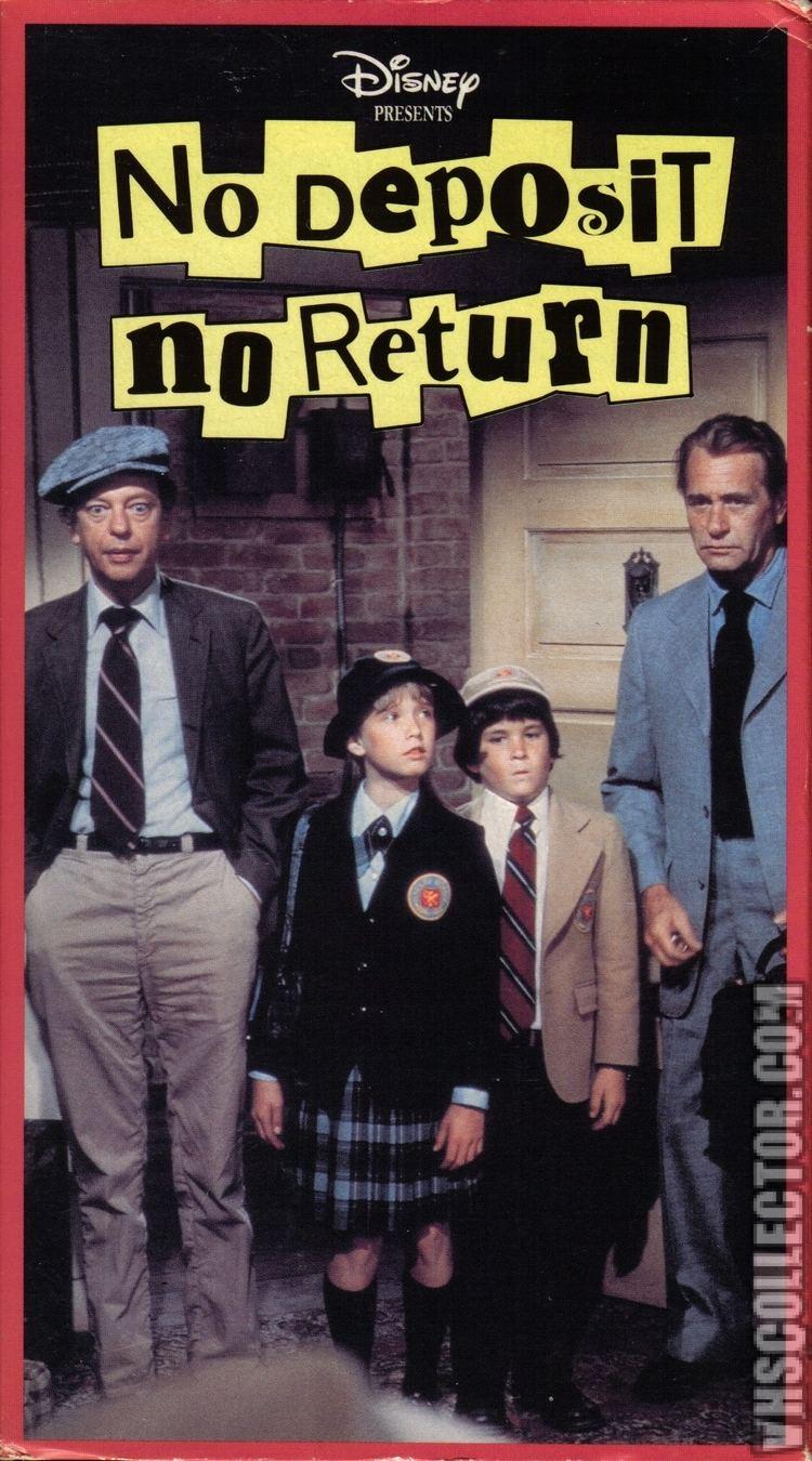 No Deposit, No Return No Deposit No Return VHSCollectorcom Your Analog Videotape Archive