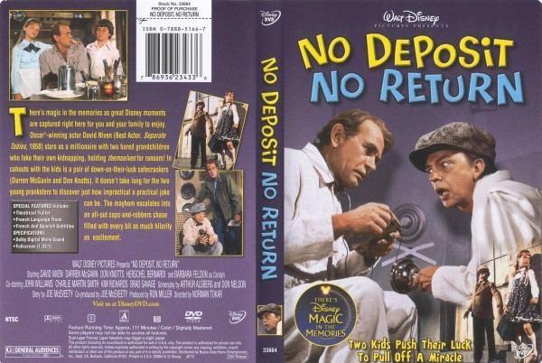 No Deposit, No Return No Deposit No Return 786936234336 Disney DVD Database