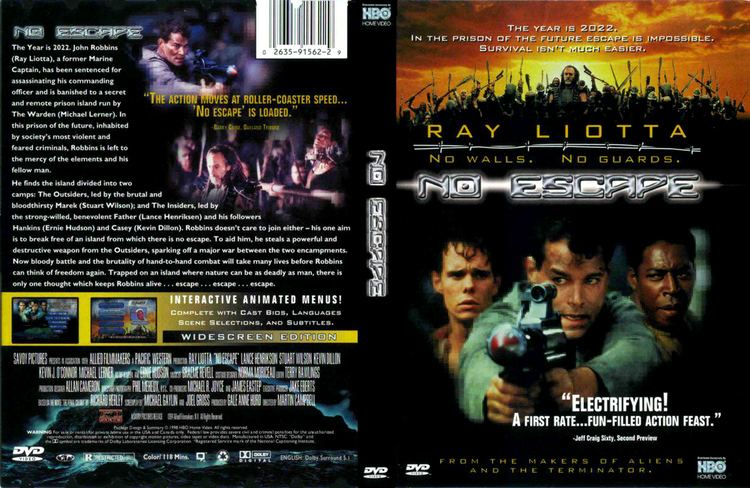 No Escape (1994 film) No Escape Official Trailer Actors Locations Photos and Trivia