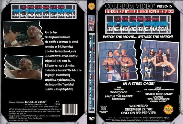 No Holds Barred (1989 film) No Holds Barred The MatchThe Movie 1989 Rant aka Thoughts