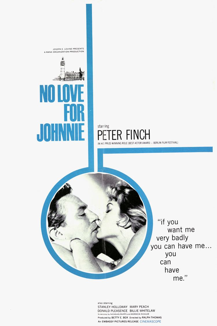 No Love for Johnnie wwwgstaticcomtvthumbmovieposters45405p45405