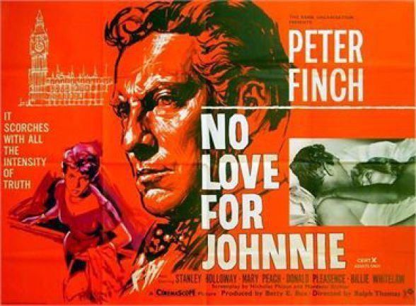 No Love for Johnnie British 60s cinema No Love for Johnnie