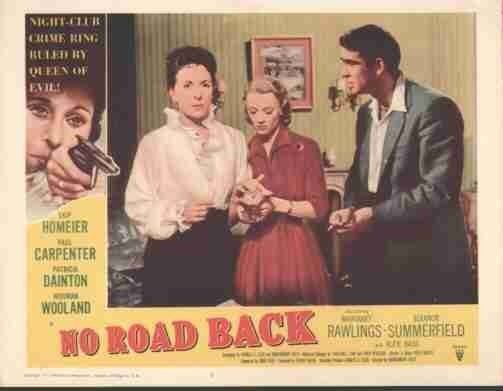 No Road Back No Road Back 1957 The Quest for Connery