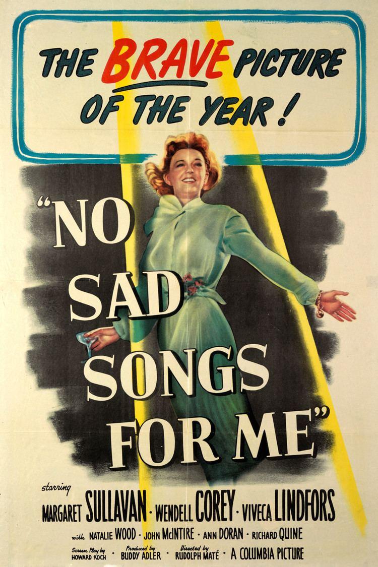 No Sad Songs for Me wwwgstaticcomtvthumbmovieposters36992p36992