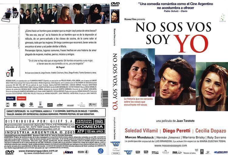 No sos vos, soy yo NO SOS VOS SOY YO Descargando Con Manu Pelis DvD Full Latino
