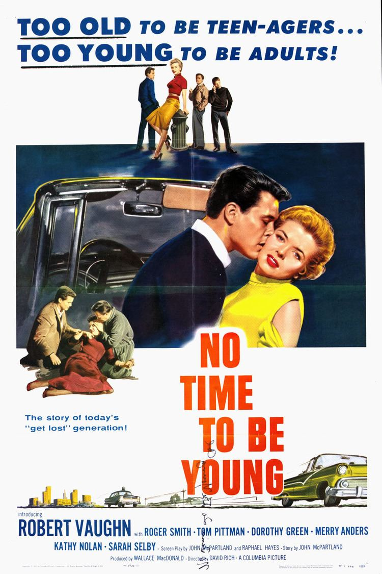 No Time to Be Young wwwgstaticcomtvthumbmovieposters45505p45505