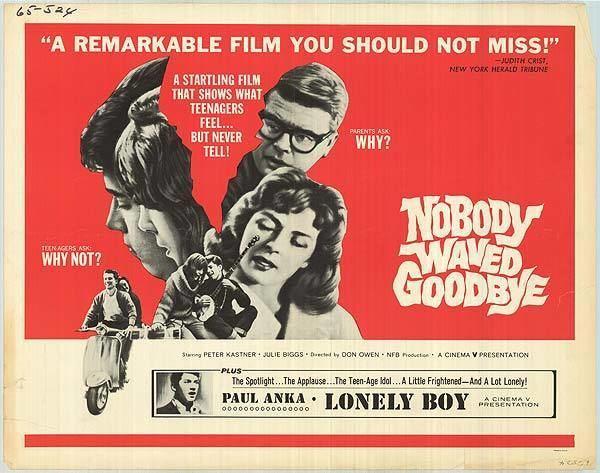 Nobody Waved Good-bye Nobody Waved Goodbye movie posters at movie poster warehouse