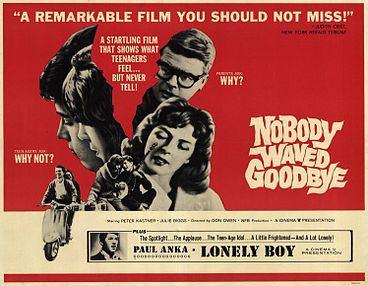 Nobody Waved Good-bye Nobody Waved Goodbye Wikipedia