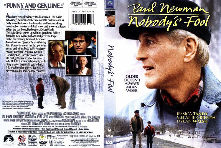 Nobody's Fool (1994 film) Nobodys Fool 1994 WS R1 Movie DVD CD Label DVD Cover Front