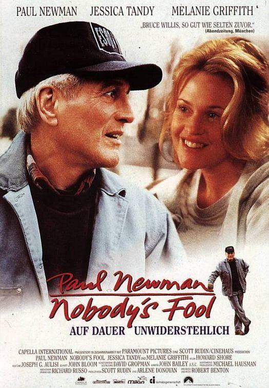 Nobody's Fool (1994 film) Nobodys Fool Movie Poster 3 of 3 IMP Awards
