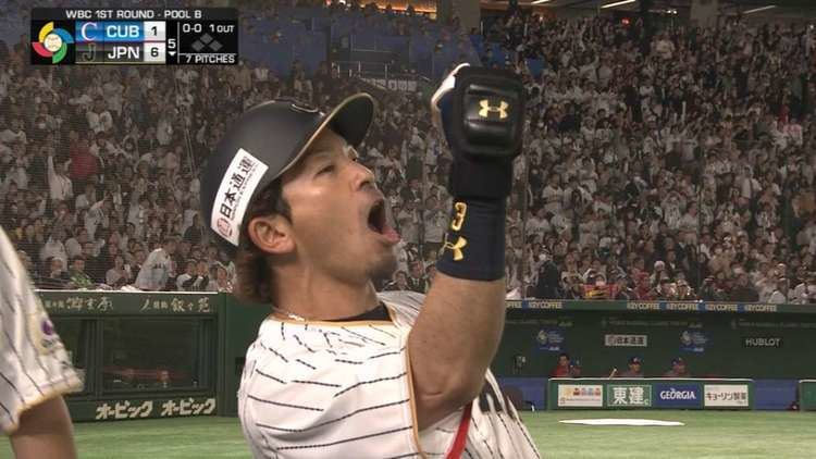 Nobuhiro Matsuda Nobuhiro Matsuda powers Japan in WBC 17 MLBcom
