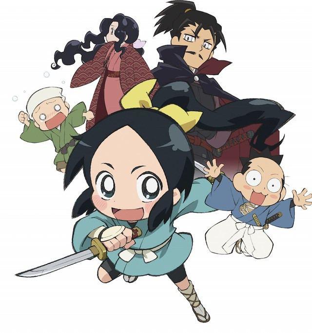 Nobunaga no Shinobi Crunchyroll quotNobunaga no Shinobiquot Anime Sneaks into 2016 TV LineUp