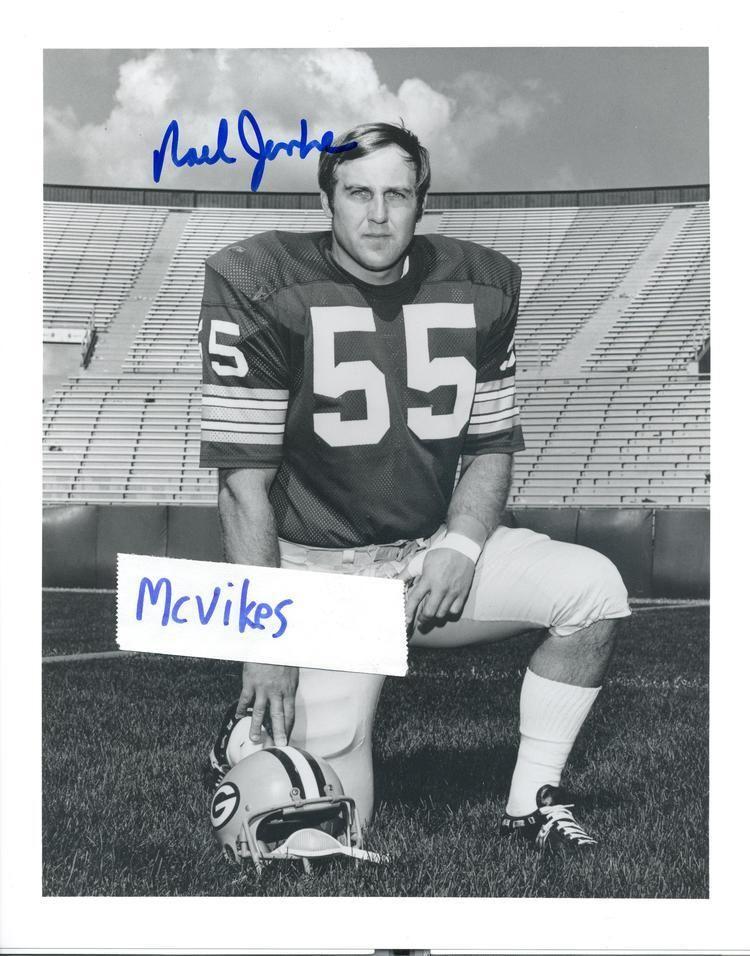 Noel Jenke Noel Jenke Green Bay Packers Autographed Signed 8x10 Photo COA