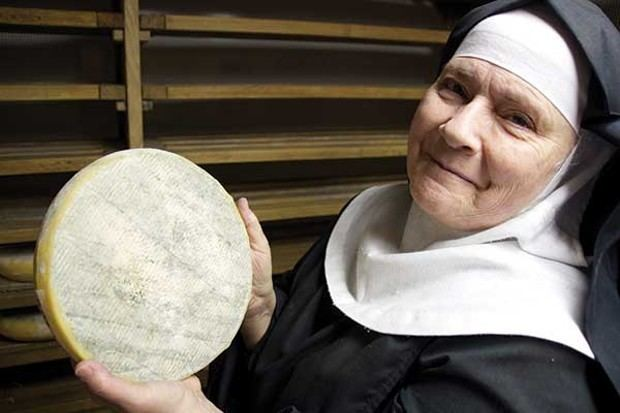Noella Marcellino Making Cheese at the Abbey of Regina Laudis Locally
