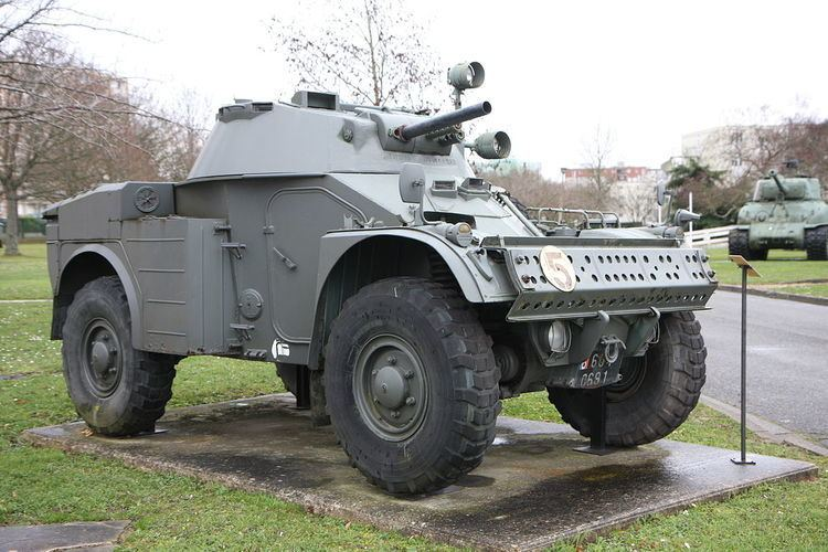 Non-military armored vehicle