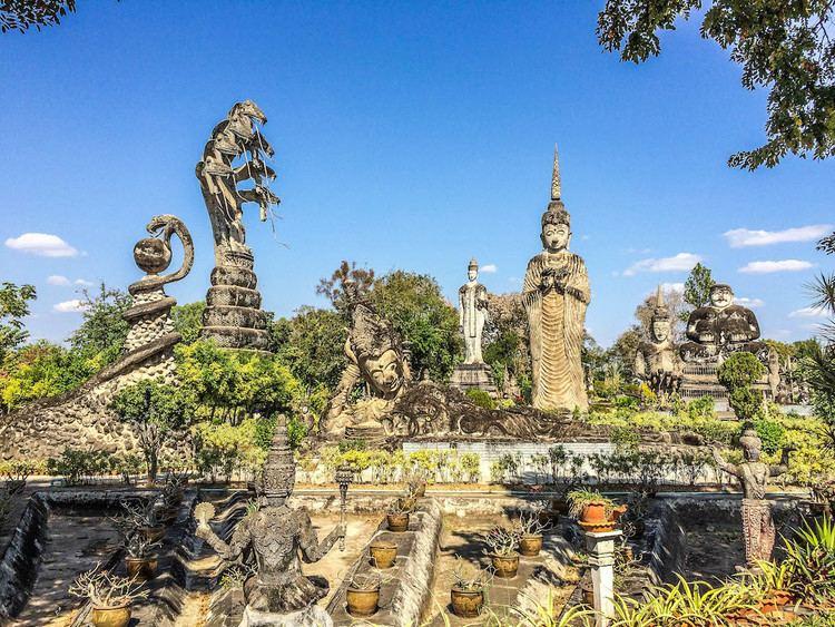 Buddha Park Nong Khai Thailand Random Travels