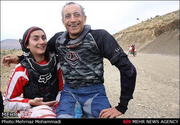 Noora Naraghi Photos Irans Female Motocross Champion Noora Naraghi