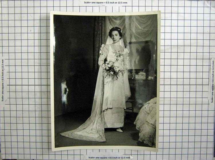 Nora Kaye 22 Print Wedding Dress Nora Kaye American Ballerina 106G243 Old Original