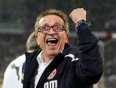 Norbert Meier Hertha vs Fortuna Relegation kommt im FreeTV Fuball