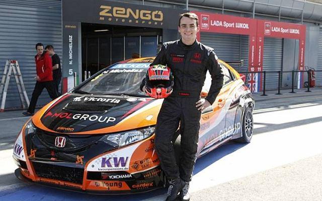 Norbert Michelisz World Touring Car Championship WTCC 2014 World Touring