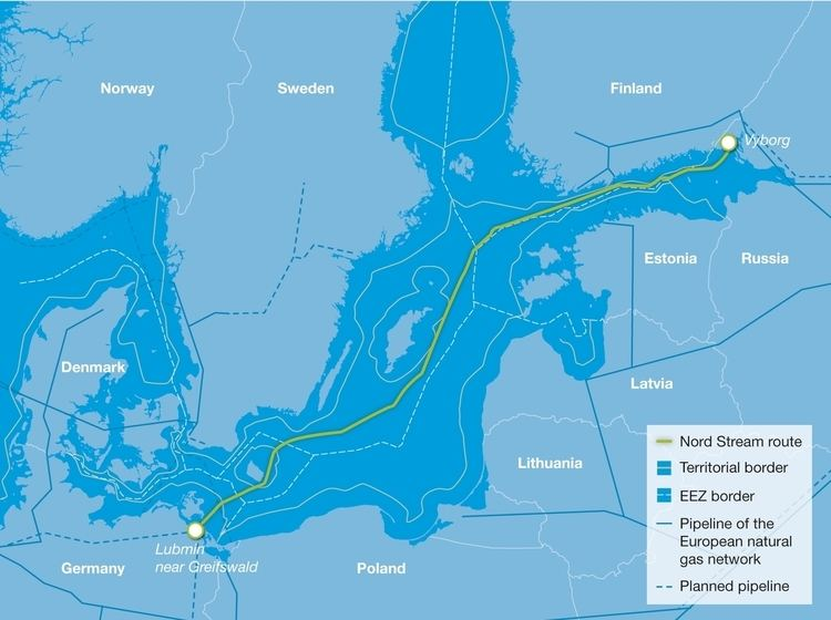 Nord Stream Nord Stream Pipeline Reinforcing Gas Supplies to Northwest Europe