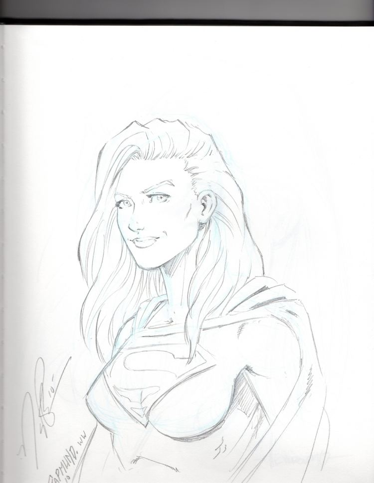 Norm Rapmund Supergirl Norm Rapmund in Kevin Szetos Convention Sketches and