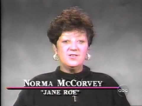 Norma McCorvey 1995 810 Norma McCorvey on Nightline YouTube