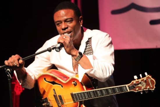 Norman Brown (guitarist) Norman Brown Jackiem Joyner and Nick Colionne at DuSable