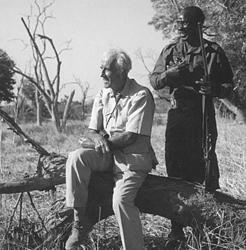 Norman Carr Norman Carr Elephant Wood Zambia