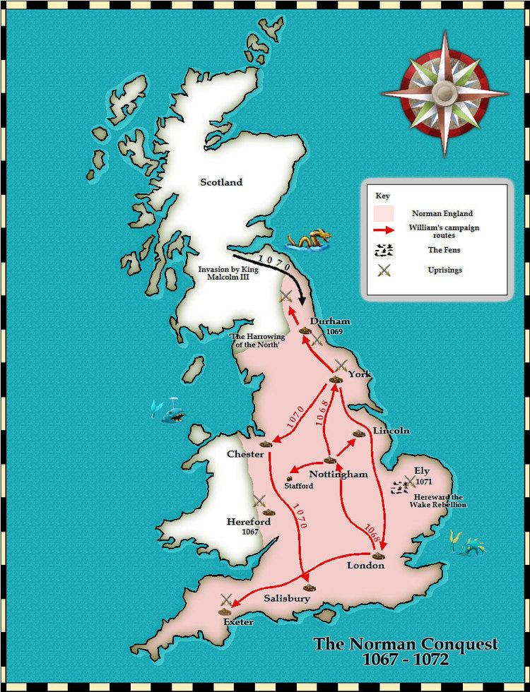 Norman conquest of England TimeRef Medieval and Middle Ages History Timelines Norman Conquest