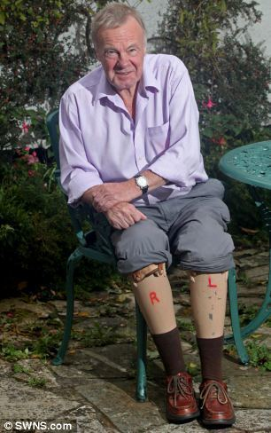 Norman Croucher Disabled pensioner 72 who had both his legs amputated as