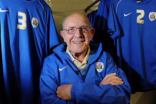 Norman Rimmington Barnsley FC pays tribute to club legend Norman Rimmington