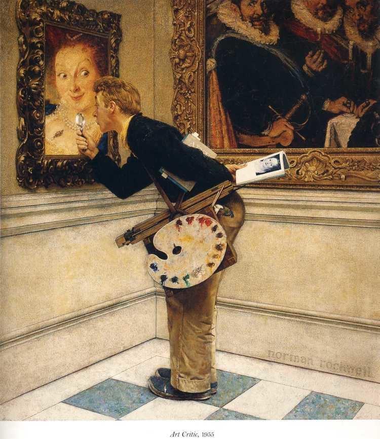 Norman Rockwell Art Critic Norman Rockwell WikiArtorg