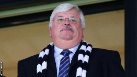 Norman Smurthwaite Norman Smurthwaite Port Vale chairman wants League One topsix