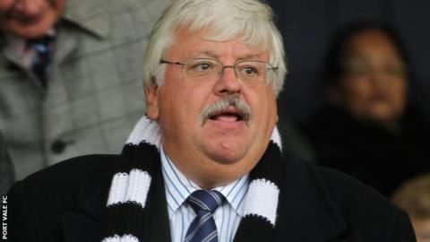 Norman Smurthwaite Port Vale chairman Norman Smurthwaite says managers job is a