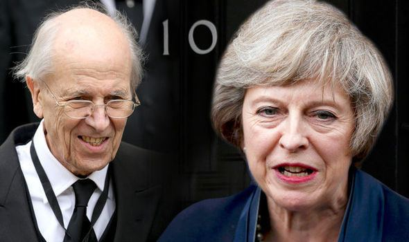 Norman Tebbit Theresa May Tories into the arms of Ukip blasts Norman Tebbit UK