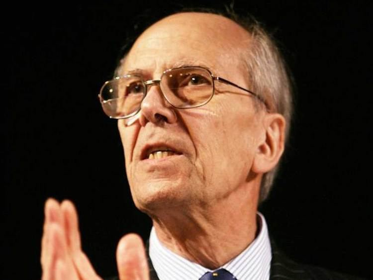 Norman Tebbit Tory peer Lord Tebbit who condemned EU citizens right to stay