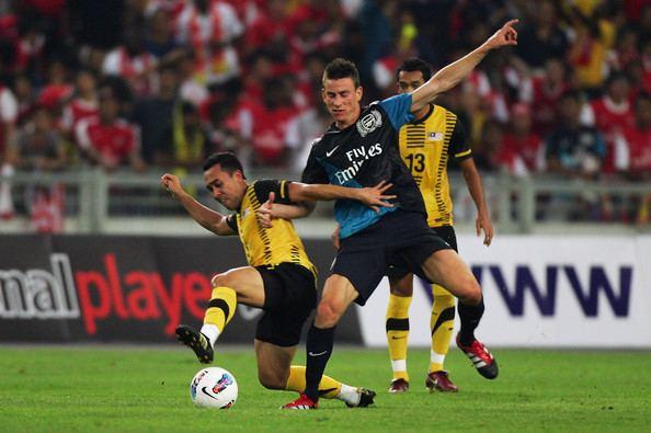 Norshahrul Idlan Norshahrul Idlan Talah Pictures Malaysia XI v Arsenal