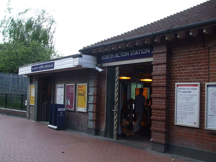 North Acton tube station