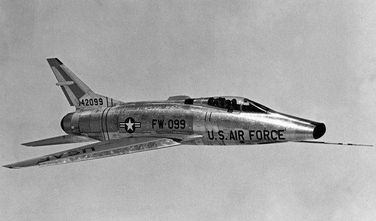 North American F-100 Super Sabre North American Aviation F100C Super Sabre Archives This Day in