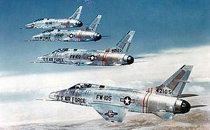 North American F-100 Super Sabre httpsuploadwikimediaorgwikipediacommonsthu