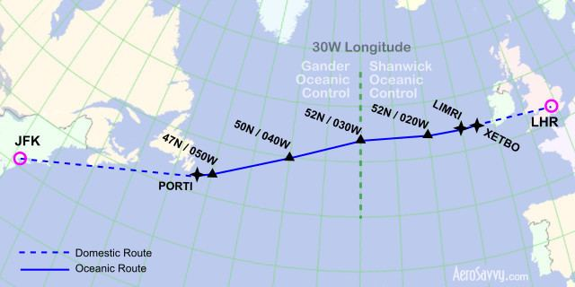 North Atlantic Tracks Flying the North Atlantic Tracks AeroSavvy