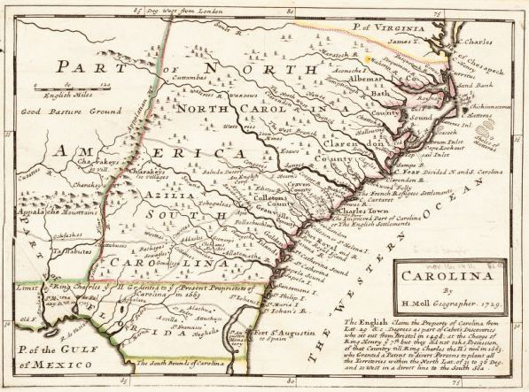North Carolina in the past, History of North Carolina