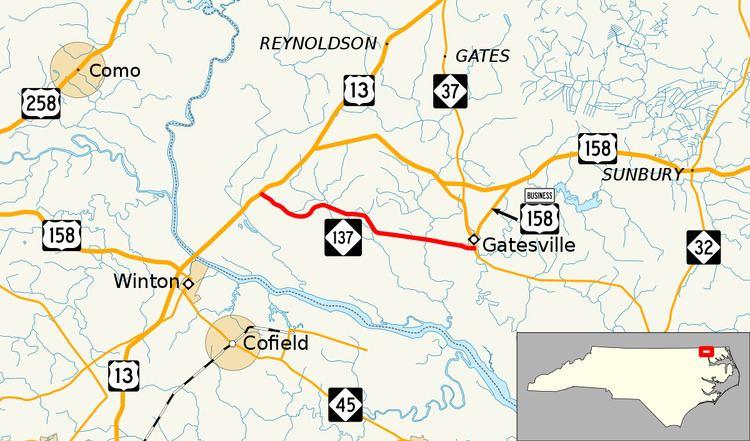 North Carolina Highway 137